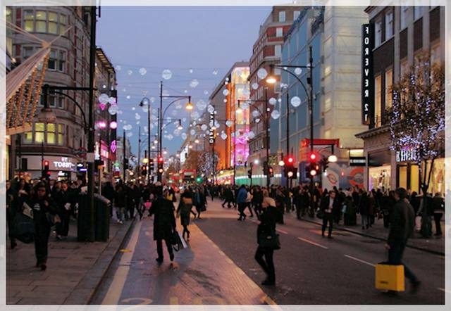 visitar Londres - Oxford Street
