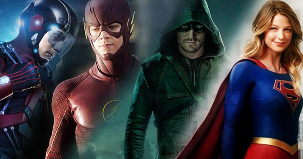 Arrow temporada 5 crossrover con otros superhéroes de la cadena The CW