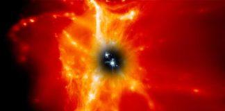 Galaxias lanzan elementos pesados en los alrededores y el espacio profundo