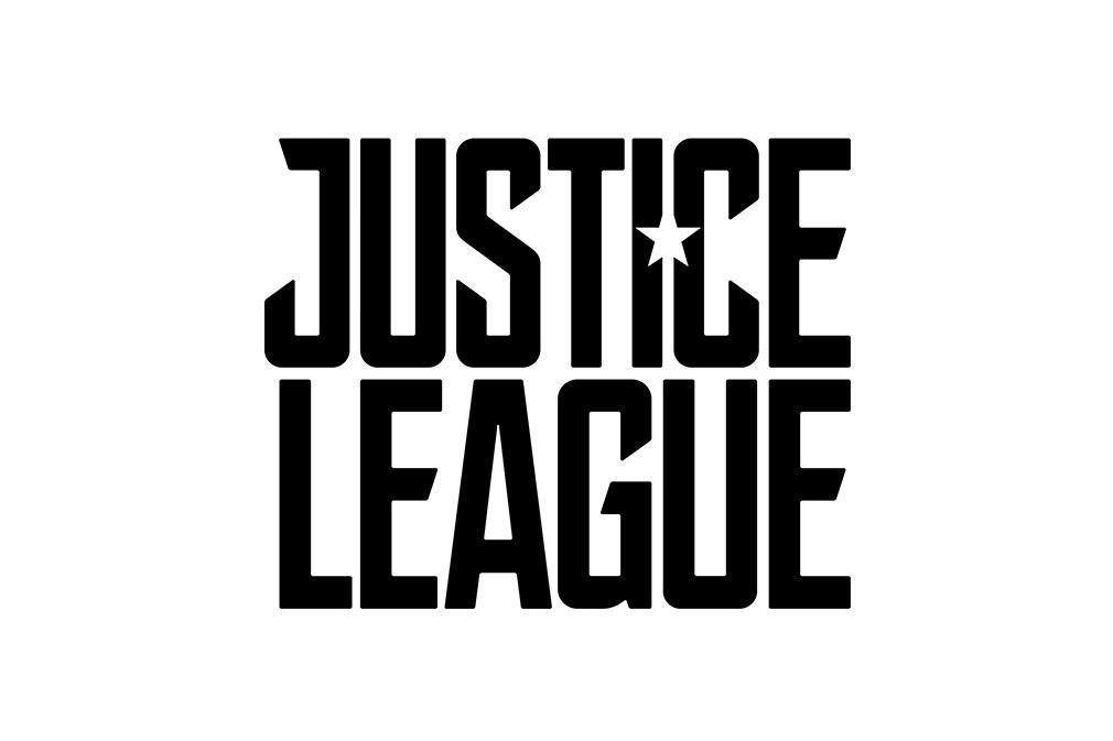 Liga de la Justicia logos y sinopsis oficial revelada logo blanco