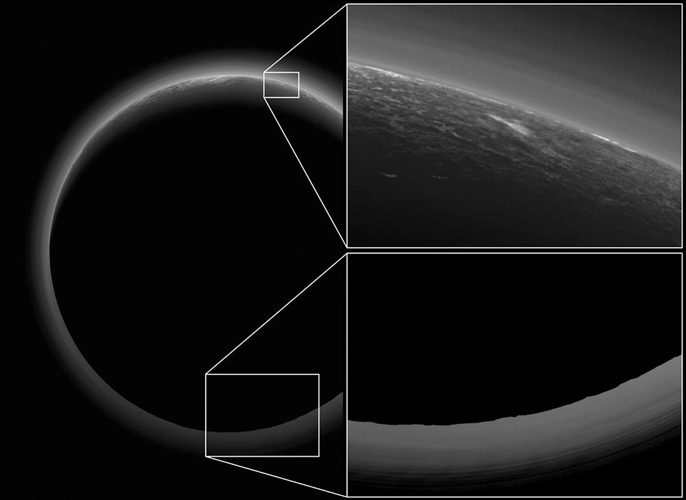 Se revelan los secretos de la Zona Oscura de Plutón