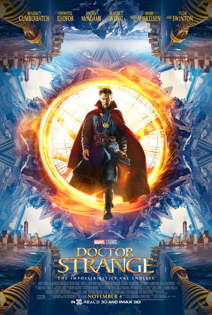 Doctor Strange trailer y poster lanzados en la Comic-Con 2016 - Nuevo poster