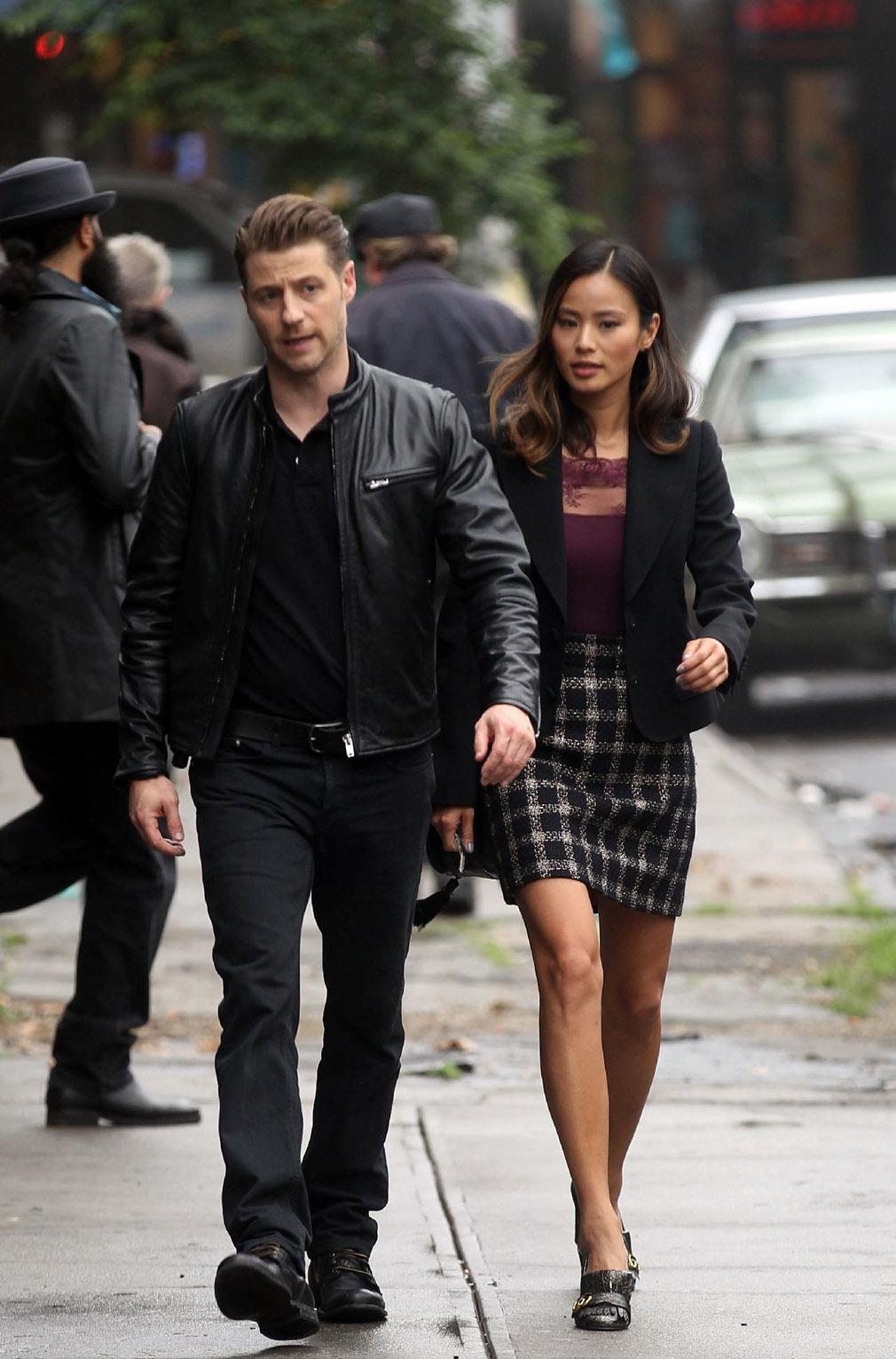 Gotham temporada 3 primeras imágenes del rodaje 02