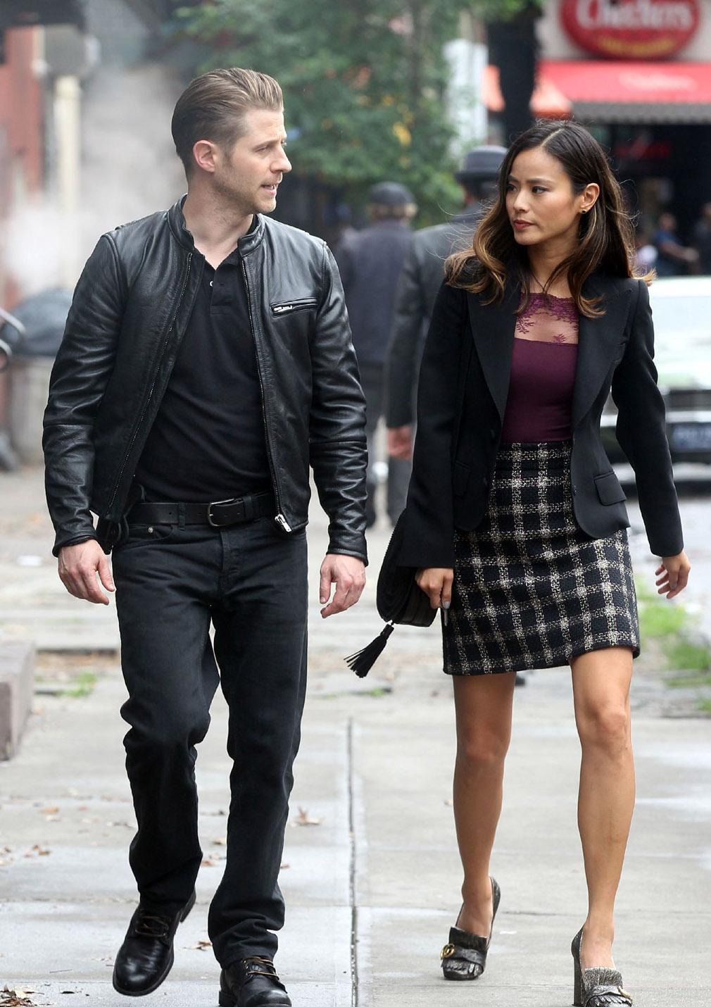 Gotham temporada 3 primeras imágenes del rodaje 03