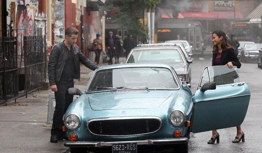 Gotham temporada 3 primeras imágenes del rodaje 05