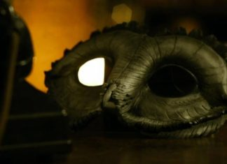 Gotham temporada 3 promos de los personajes para la nueva temporada, máscara de la 'Corte de lo Búhos'