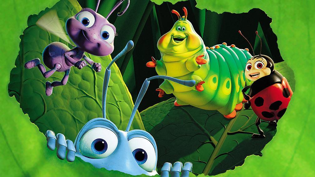 Las mejores películas de Pixar (actualizado a 2016) - Bichos, una aventura en miniatura