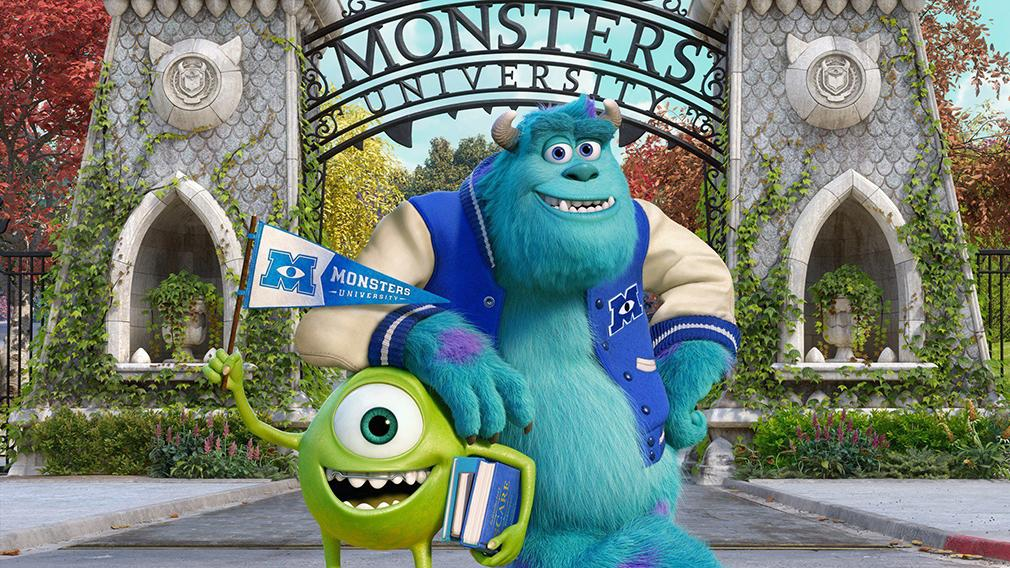 Las mejores películas de Pixar (actualizado a 2016) - Monstruos University