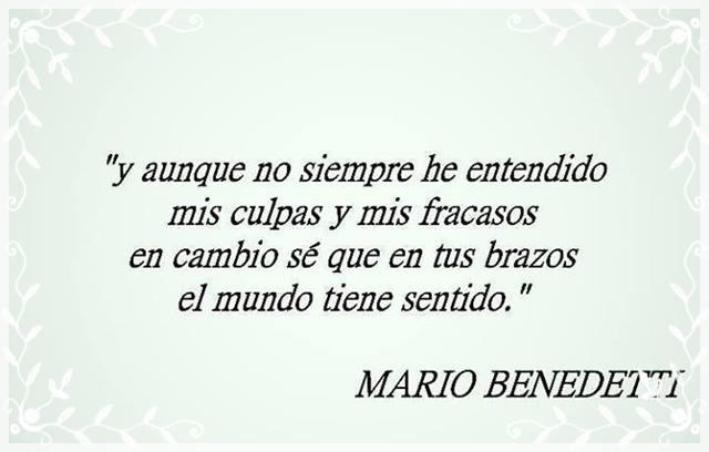 Las Frases Cortas De Mario Benedetti Mas Celebres Sobre El Amor