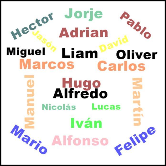 nombres de niño