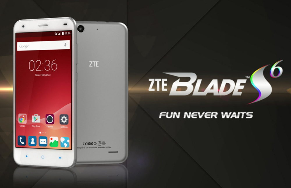 otherwise zte blade s6 64gb Already: The
