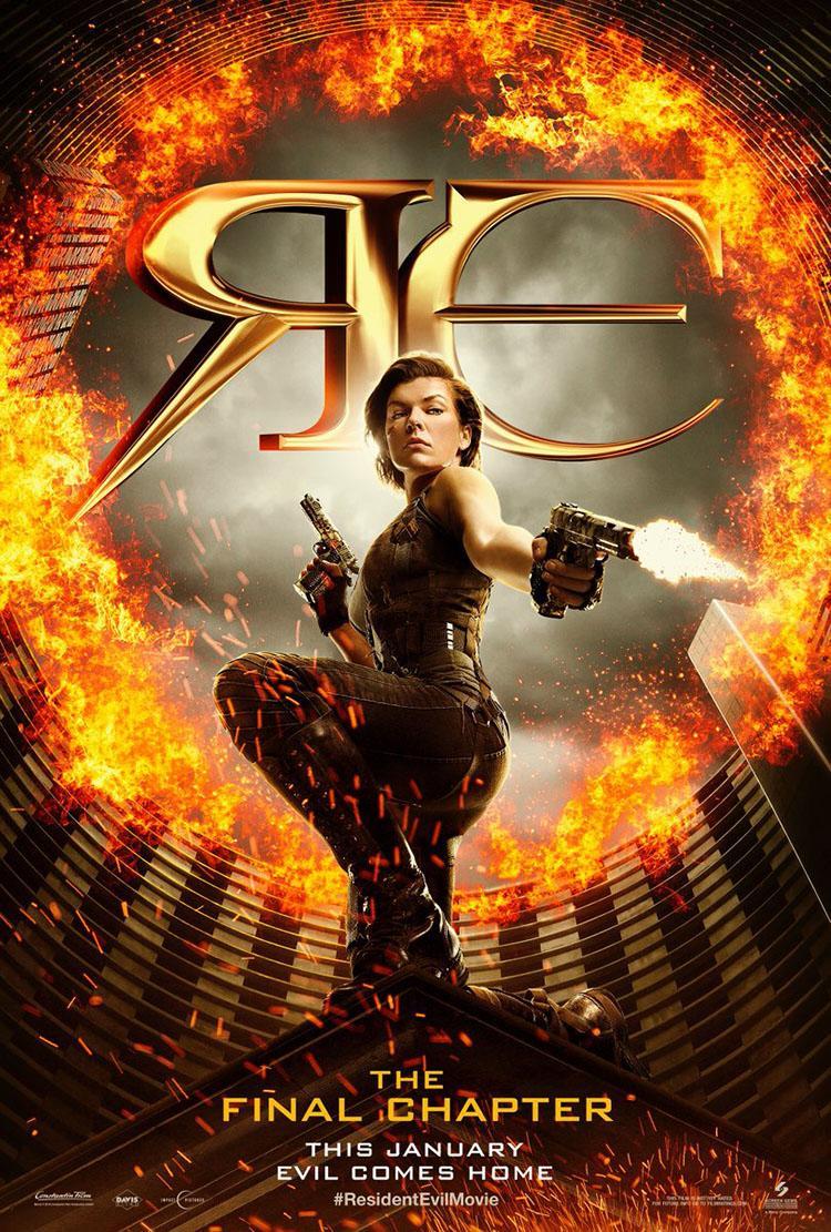 'Resident Evil 6 El capítulo final' primer tráiler oficial - Poster