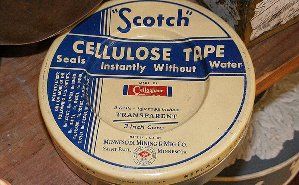 El origen de la cinta adhesiva tal y como la conocemos