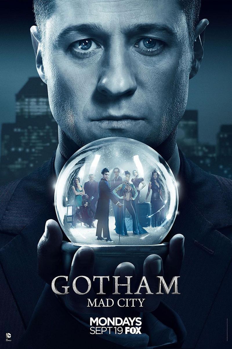 Gotham temporada 3 el doble de Bruce Wayne - Nuevo poster