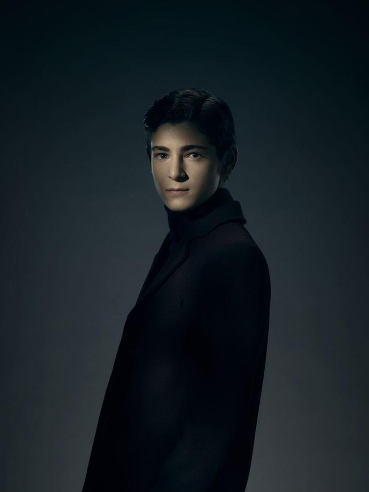 Gotham temporada 3 galería de personajes principales - David Mazouz como Bruce Wayne