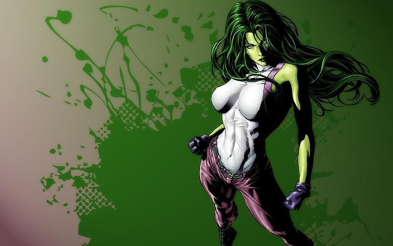 Las superheroínas que queremos ver en pantalla - She-Hulk