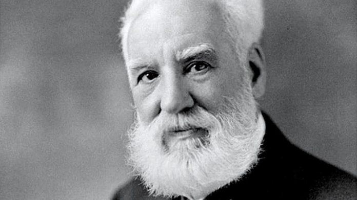 El inventor del telefono Alexander Graham Bell