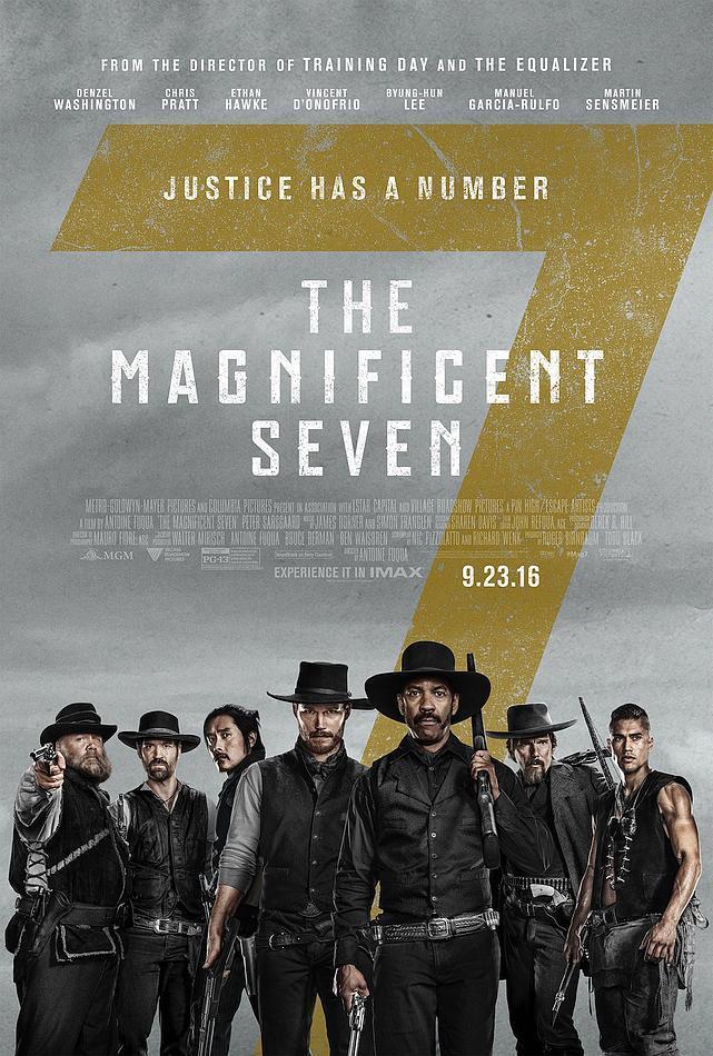 Los siete Magníficos nuevo póster oficial de la película