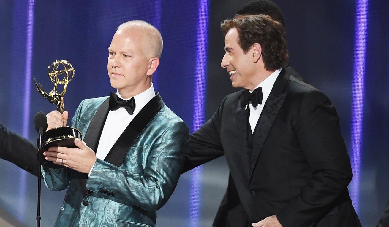 Premios Emmy 2016 lista de ganadores 'Veep' y 'Juego de Tronos' acaparan triunfos - Christian Clemenson y John Travolta