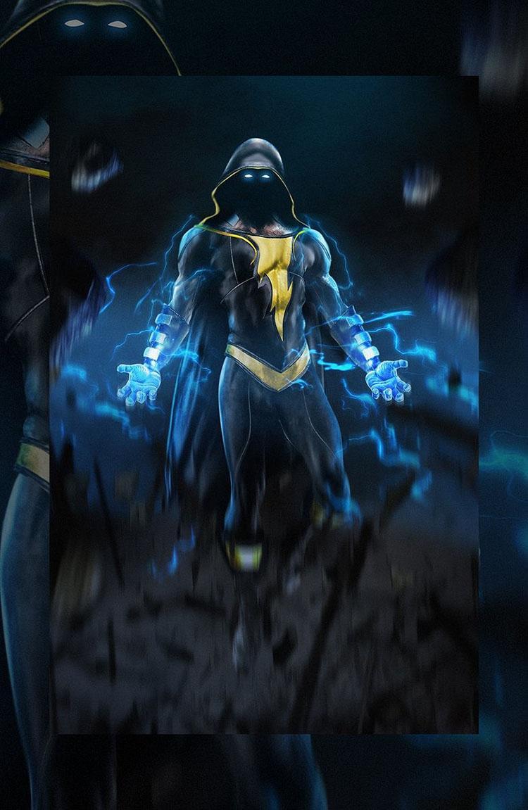 'Shazam' película de la DC así se vería Dwayne Johnson como Black Adam 02