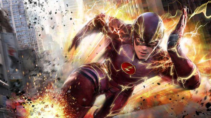 The Flash temporada 3 Gran Gustin publica una nueva imagen del rodaje