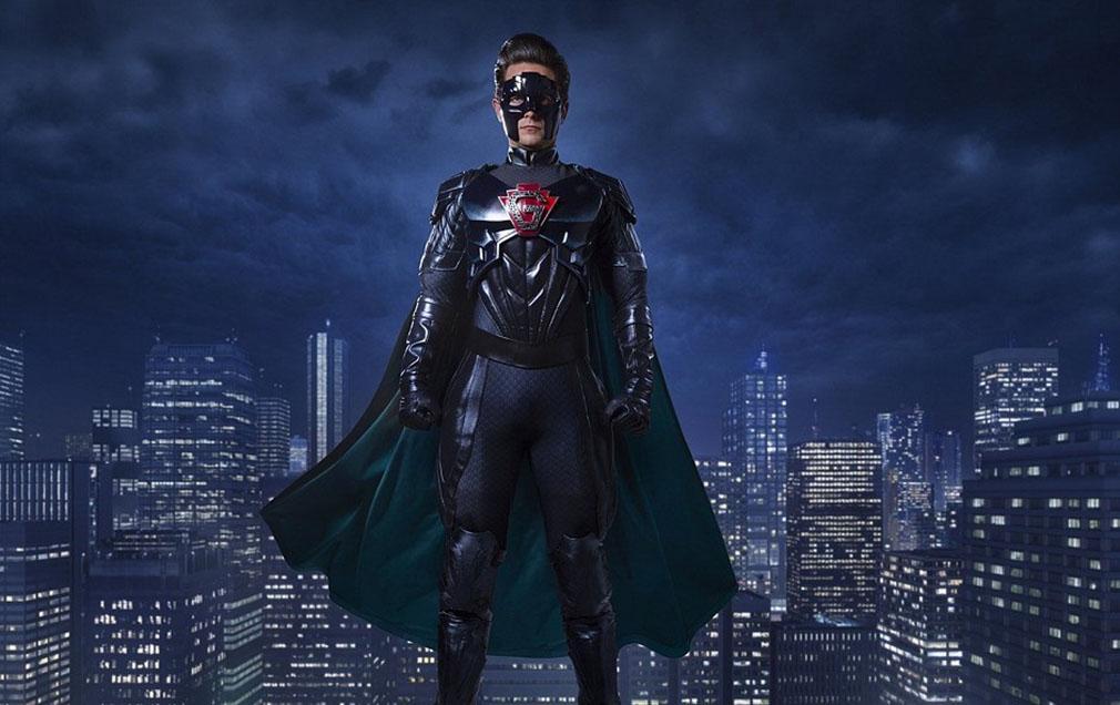 Doctor Who especial de Navidad 2016, video, título e imagen - Justin Chatwin como superhéroe