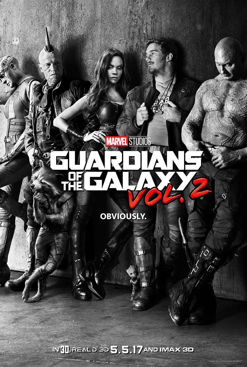 'Guardianes de la Galaxia 2' nuevo teaser tráiler y póster oficial