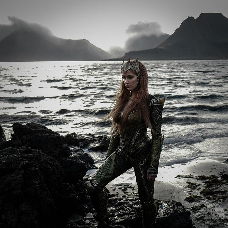 'La Liga de la Justicia' primera imagen de Amber Heard como Mera