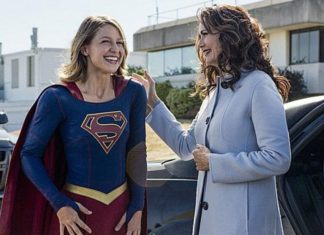 Supergirl temporada 2 promo 2x03 'Welcome to Earth' - Melissa Benoist (Supergirl) y Lynda Carter (Presidenta)