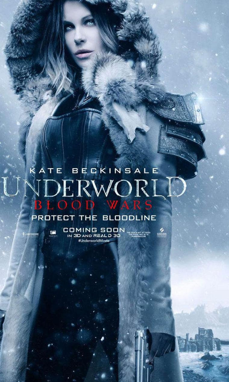 'Underworld Blood Wars' posters de Selene y otros personajes - Kate Beckinsale como Selene