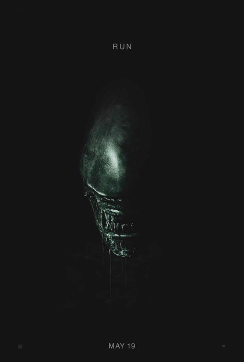 'Alien Covenant' teaser póster, es tiempo de correr - Póster