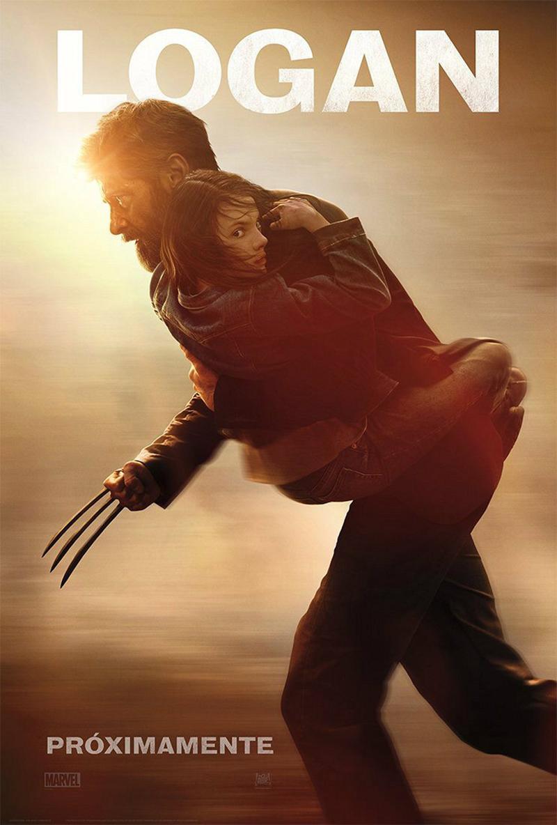 'Logan' nuevo póster Lobezno protege a X-23 - Póster