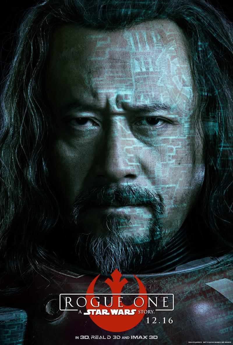 'Rogue One A Star Wars Story' nuevos posters IMAX - Baze Malbus