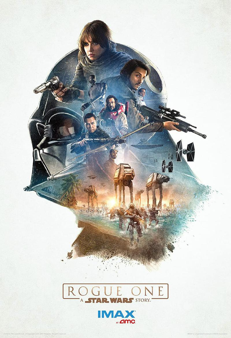 'Rogue One A Star Wars Story' nuevos posters IMAX - Darth Vader