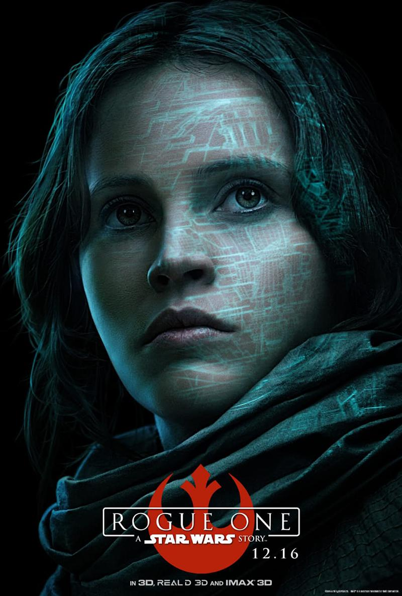 'Rogue One A Star Wars Story' nuevos posters IMAX - Jyn Erso 01