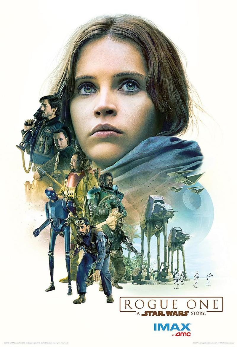 'Rogue One A Star Wars Story' nuevos posters IMAX - Jyn Erso 02