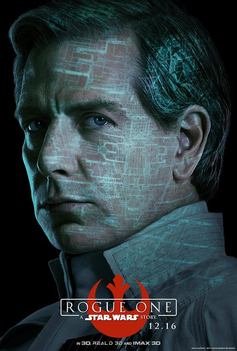 'Rogue One A Star Wars Story' nuevos posters IMAX - Orson Krennic