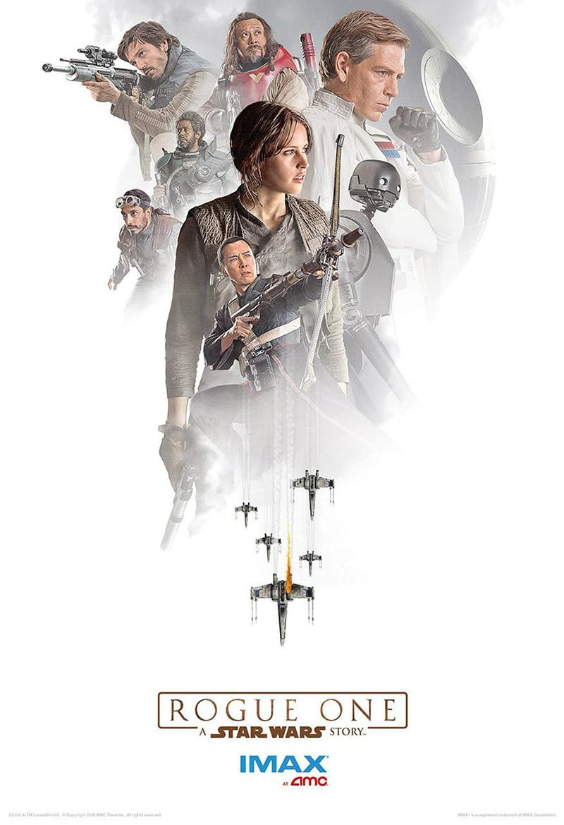 'Rogue One A Star Wars Story' nuevos posters IMAX - Personajes 01