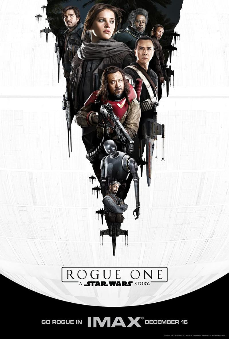 'Rogue One A Star Wars Story' nuevos posters IMAX - Personajes 02