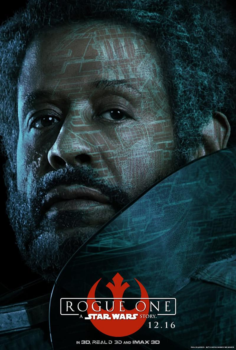 'Rogue One A Star Wars Story' nuevos posters IMAX - Saw Gerrera