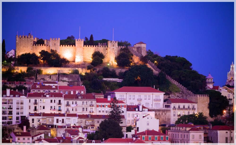 el castillo de San Jorge Lisboa