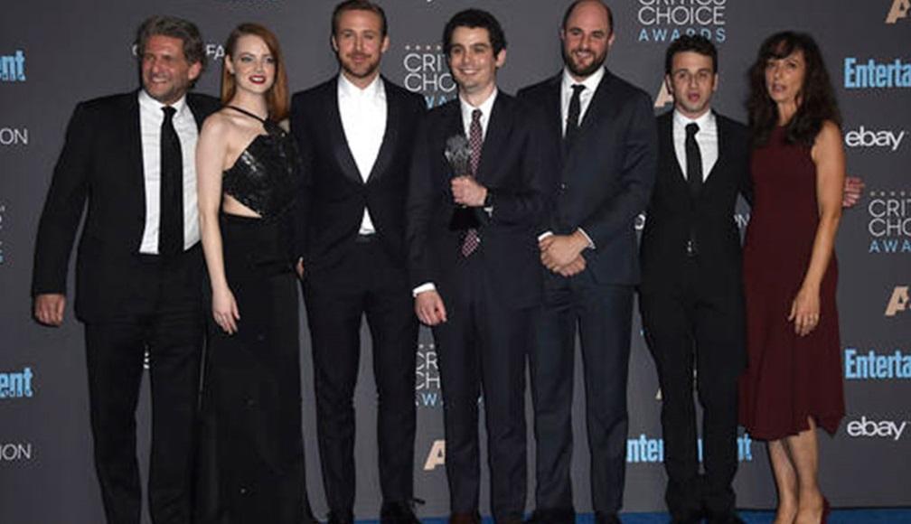 Lista de ganadores de los Critic's Choice Awards 2016 - Reparto de la película 'La La Land'