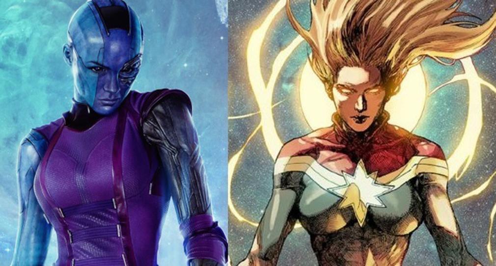 'Vengadores Guerra del Infinito' confirma en el reparto a Captain Marvel y Nebula