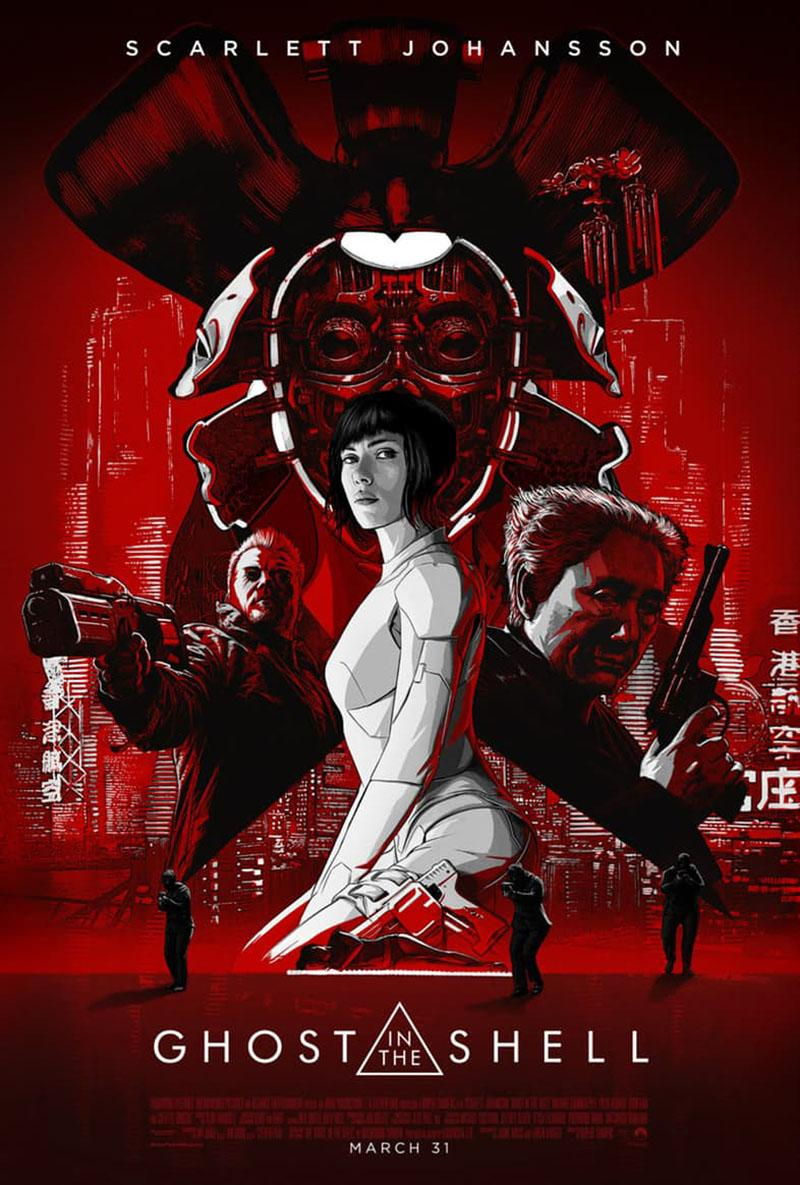 'Ghost in the Shell' nuevo cartel une a la sección 9 - Póster