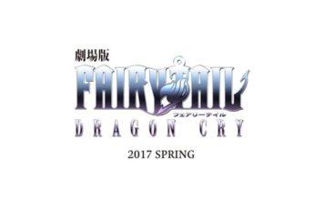 La película 'Fairy Tail: Dragon Cry' llegará en la primavera del 2017