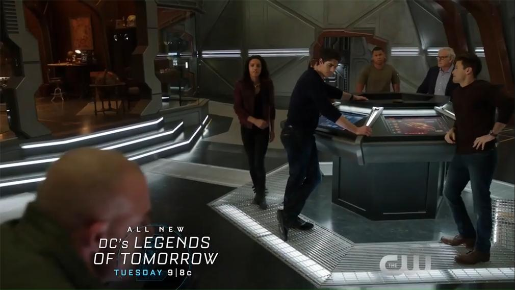 Legends of Tomorrow temporada 2 promo 2x10 'The Legion of Doom'