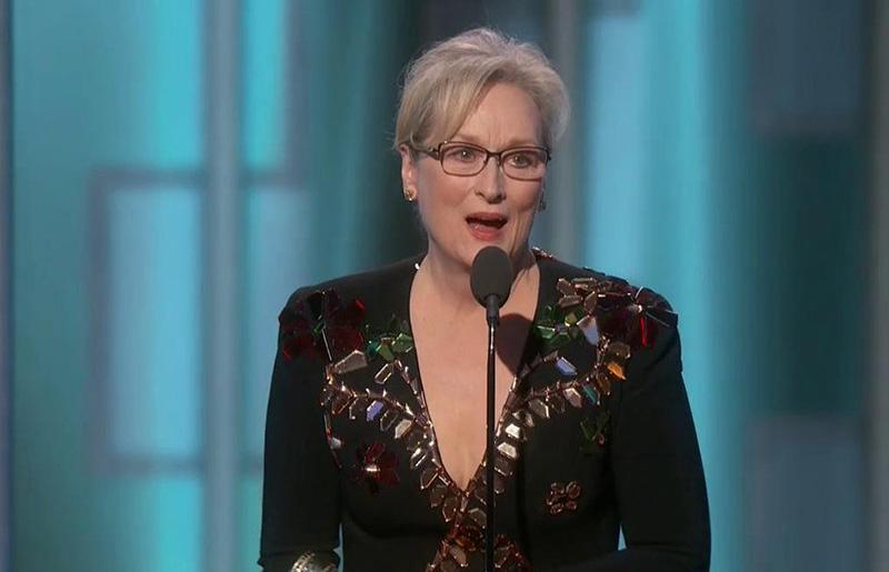 Lista de ganadores de los Globos de Oro 2017 - Meryl Streep ganadora del premio Cecil B. DeMille