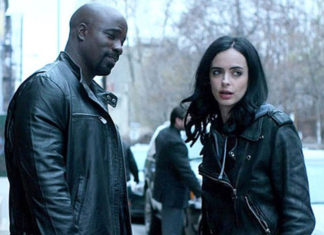 'Los Defensores' fotos del reencuentro de Luke Cage con Jessica Jones