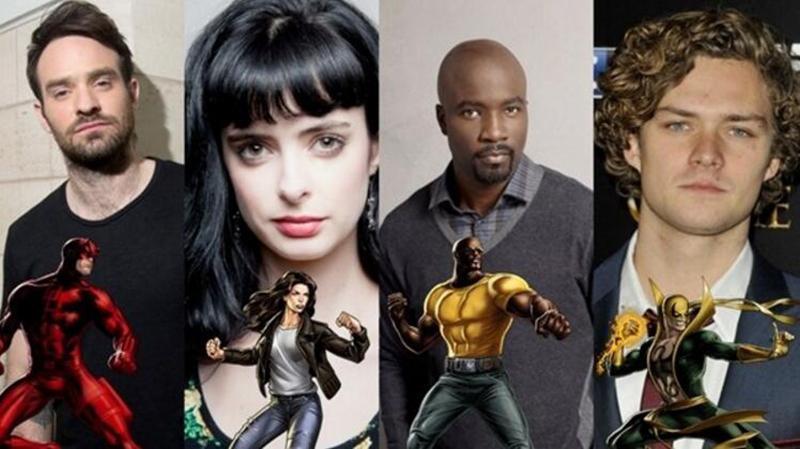 'Los Defensores' transcurre pocos meses después de la temporada 2 de 'Daredevil' - Actores protagonistas