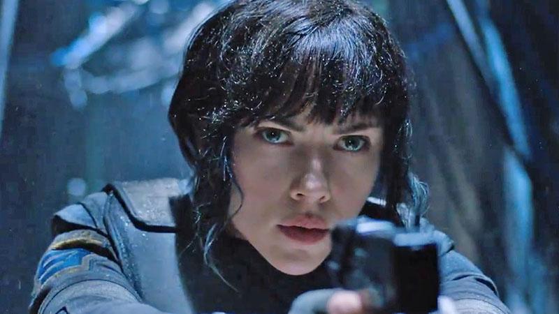 Películas recomendadas muy buenas para ver en 2017 - 05 'Ghost in the Shell'